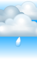 Погода в Грозном на 23 февраля, четверг. Утро: пасмурно, небольшой дождь