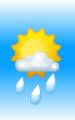 Погода в Дакке на 29 марта, среда. Утро: малооблачно, дождь