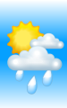 Погода в Богучаре на 29 июля, суббота. Утро: облачно, дождь