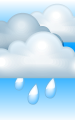 Погода в Киргиз-Мияках на 24 апреля, понедельник. День: пасмурно, дождь