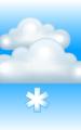 Погода в Апатитах на 28 марта, вторник. Утро: пасмурно с просветами, небольшой снег