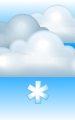Погода в Крымске на 27 января, пятница. Утро: пасмурно, небольшой снег