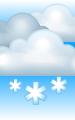 Погода в Апатитах на 9 декабря, пятница. Утро: пасмурно, снег, местами дымка