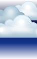 Погода в Апатитах на 9 декабря, пятница. Ночь: пасмурно, сильный туман