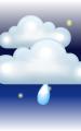 Погода в Бадене на 15 декабря, четверг. Ночь: пасмурно с просветами, небольшой дождь