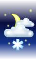 Погода в Котовске на 31 марта, пятница. Ночь: облачно, небольшой снег