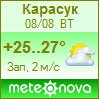 Погода от Метеоновы по г. Карасук