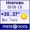 Погода от Метеоновы по г. Ипатово