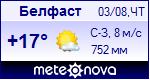 Погода в Белфасте - установите себе на сайт информер с прогнозом погоды