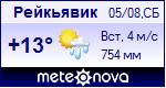 Погода в Рейкьявике - установите себе на сайт информер с прогнозом погоды
