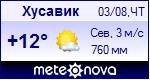 Погода в Хусавике - установите себе на сайт информер с прогнозом погоды