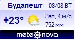 Погода в будапеште установите себе