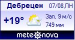 Погода в Дебрецене - установите себе на сайт информер с прогнозом погоды