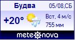 Погода в Будве - установите себе на сайт информер с прогнозом погоды