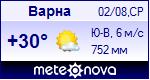 Погода в Варне - установите себе на сайт информер с прогнозом погоды