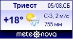 Погода в Триесте - установите себе на сайт информер с прогнозом погоды
