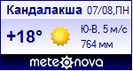 Погода в Кандалакше - установите себе на сайт информер с прогнозом погоды