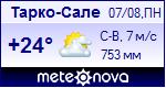 Погода в Тарко-Сале - установите себе на сайт информер с прогнозом погоды