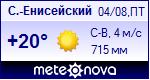 Погода в Северо-Енисейском - установите себе на сайт информер с прогнозом погоды