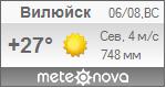 Погода от Метеоновы по г. Вилюйск