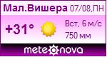 Погода от Метеоновы по г. Малая Вишера