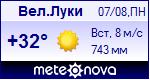 Погода в Великих Луках - установите себе на сайт информер с прогнозом погоды