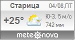 Погода от Метеоновы по г. Старица