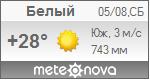Погода от Метеоновы по г. Белый