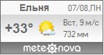 Погода от Метеоновы по г. Ельня