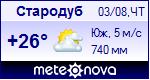 Погода в Стародубе - установите себе на сайт информер с прогнозом погоды