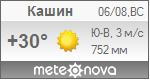 Погода от Метеоновы по г. Кашин