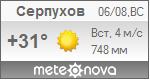 Погода от Метеоновы по г. Серпухов