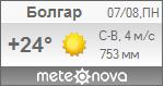 Погода от Метеоновы по г. Болгар