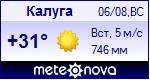 Погода в Калуге - установите себе на сайт информер с прогнозом погоды