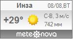 Погода от Метеоновы по г. Инза