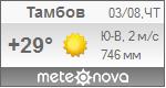Погода от Метеоновы по г. Тамбов