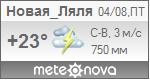 Погода от Метеоновы по г. Новая Ляля
