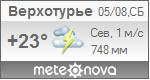 Погода от Метеоновы по г. Верхотурье