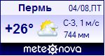 Погода в Перми - установите себе на сайт информер с прогнозом погоды