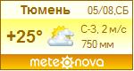 Погода от Метеоновы по г. Тюмень