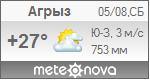 Погода от Метеоновы по г. Агрыз