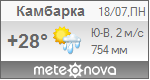 Погода от Метеоновы по г. Камбарка