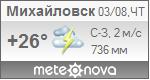 Погода от Метеоновы по г. Михайловск