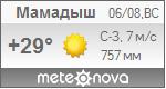 Погода от Метеоновы по г. Мамадыш