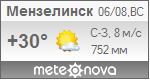 Погода от Метеоновы по г. Мензелинск