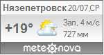 Погода от Метеоновы по г. Нязепетровск