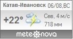 Погода от Метеоновы по г. Катав-Ивановск
