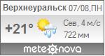 Погода от Метеоновы по г. Верхнеуральск