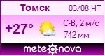 Погода от Метеоновы по г. Томск