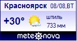 Погода в Красноярске - установите себе на сайт информер с прогнозом погоды